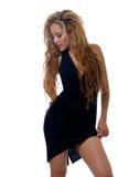 Peu robe noire Photos stock