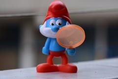 Peu Smurfs bleu, Papa Smurf photo libre de droits