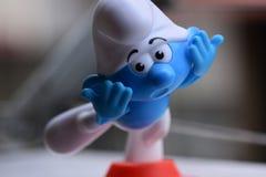 Peu Smurfs bleu, Smurf photos stock