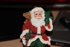 Peu statue de Santa Claus photo stock