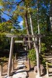 Peu tores en pierre dans le jardin du temple de Ginkakuji à Kyoto, Japon photo stock