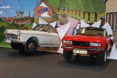 Peugeot小轿车 免版税库存照片