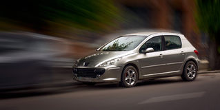 Peugeot αυτοκίνητο στοκ εικόνες
