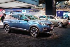 Peugeot 5008 αυτοκίνητο Crossway SUV στοκ εικόνες με δικαίωμα ελεύθερης χρήσης