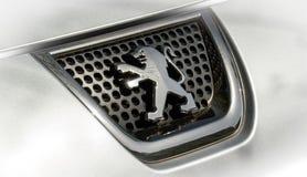 Peugeot εικονίδιο στοκ εικόνα με δικαίωμα ελεύθερης χρήσης
