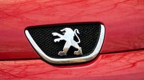 Peugeot λογότυπο στοκ φωτογραφία με δικαίωμα ελεύθερης χρήσης