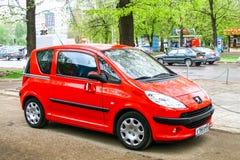 Peugeot 1007 Fotografering för Bildbyråer