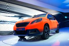Peugeot 2008 Royalty Free Stock Photography