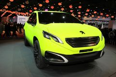 The Peugeot 2008 Concept Royalty Free Stock Image