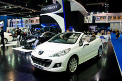 Peugeot 207 CC Royalty Free Stock Photo