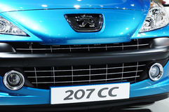 Peugeot 207 cc  front Royalty Free Stock Photo