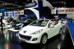 Peugeot 207 centímetros cúbicos Foto de archivo libre de regalías