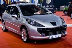 Peugeot 207 GTI - un portello dei 5 portelli - MPH Fotografia Stock
