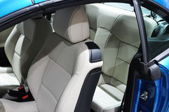 Peugeot 207cc Car interior Stock Photo