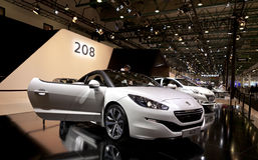 Peugeot 208 Obrazy Stock