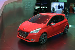 Peugeot 208 GTI Concept - Geneva Motor Show 2012 Stock Photography