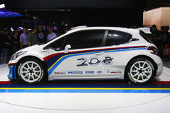 Peugeot 208 racing Stock Images
