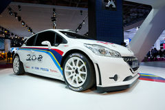 Peugeot 208 RS sport hatchback Royalty Free Stock Image