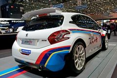 Peugeot 208 T16 Obraz Stock