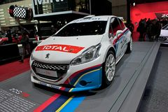 Peugeot 208 T16 Stock Photography