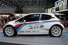 Peugeot 208 T16 Royalty Free Stock Photography