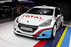 Peugeot 208 Zdjęcie Stock