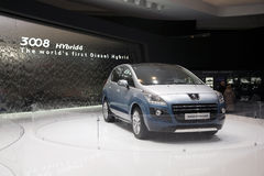 Peugeot 3008 HYbrid4 Stock Photo