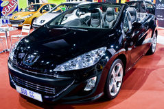 Peugeot 308 Convertible Stock Photography