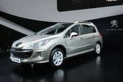Peugeot 308 sw Stock Photos