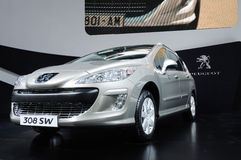 Peugeot 308 sw Stock Images