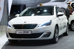 Peugeot 308 zdjęcie royalty free