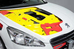 Peugeot 508 car body Royalty Free Stock Photography