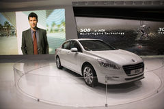 Peugeot 508 Micro Hybrid e-HDi Royalty Free Stock Image