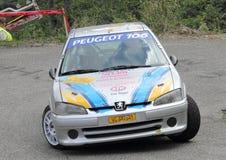 Peugeot 106 Royaltyfria Bilder