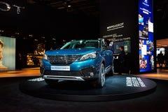 2017 Peugeot 5008 Royalty-vrije Stock Foto