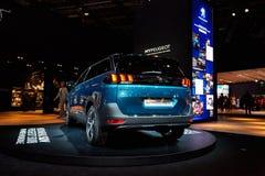 2017 Peugeot 5008 Royalty-vrije Stock Foto's