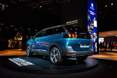 2017 Peugeot 5008 Royalty-vrije Stock Afbeelding