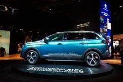 2017 Peugeot 5008 Stock Afbeelding
