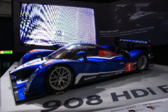 Peugeot 908 HDI Le Mans Series Royalty Free Stock Photos