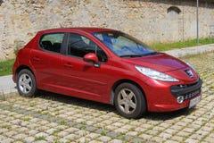 Peugeot 207 Royalty-vrije Stock Fotografie