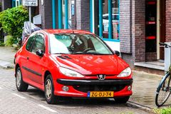 Peugeot 206 Stock Photography