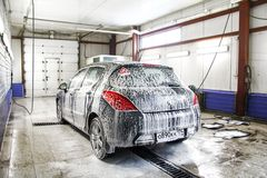Peugeot 308 Stock Photo