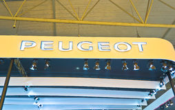 Peugeot Auto logo Royalty Free Stock Photo