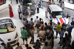 Peugeot-autocabine Royalty-vrije Stock Fotografie