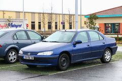 Peugeot 406 imagens de stock
