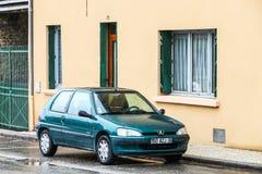 Peugeot 106 royaltyfri fotografi