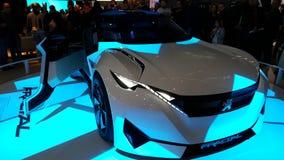 Peugeot beperkte auto in Parijs Royalty-vrije Stock Foto's