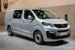 Peugeot Biegły handlowy pojazd zdjęcia stock