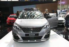 Peugeot bij het Car Show van Belgrado Royalty-vrije Stock Fotografie