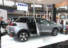 Peugeot bij het Car Show van Belgrado Royalty-vrije Stock Foto's